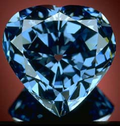 The Blue Heart Diamond In World Top 10 Rarest Diamond