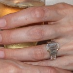 Brangelina Engagement Ring - $250k Engagement Ring Adores Angelina Jolie's Finger