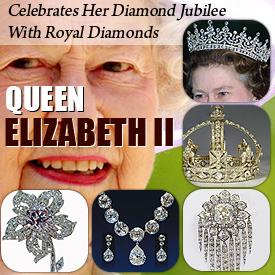 Queen Elizabeth II Celebrates Diamond Jubilee With Royal Diamonds