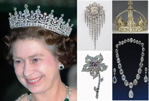 Queen Elizabeth II Celebrates Her Diamond Jubilee With Royal Diamonds