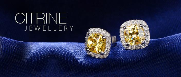 : Citrin Jewellery- Birthstone of November