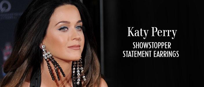 Katy Perry Statement Earrings