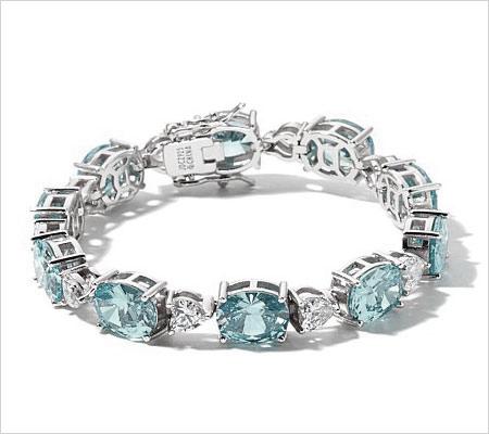 Aquamarine Bracelets (Source: hsn.com)