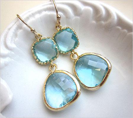Aquamarine Earrings (Source: luulla.com)