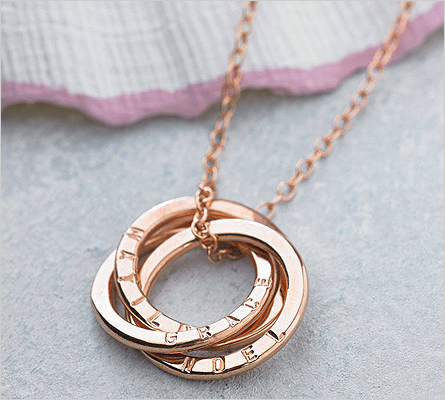 Rose Gold Pendants (Source: notonthehighstreet.com)