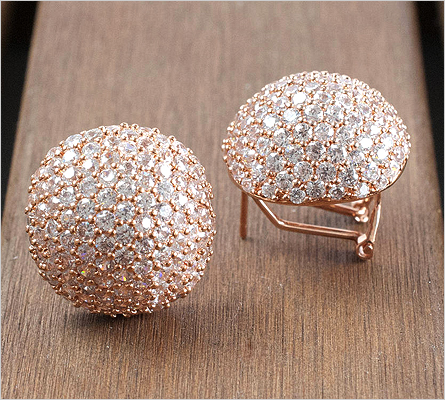 Rose Gold Earrings (Source: notonthehighstreet.com)