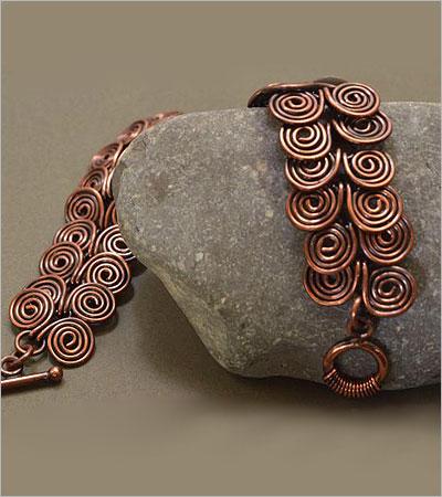Copper Bracelet (hungrycatcafejewelry.com)