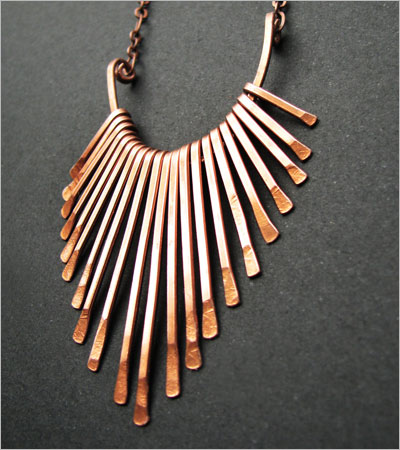Copper Necklace (etsy.com)