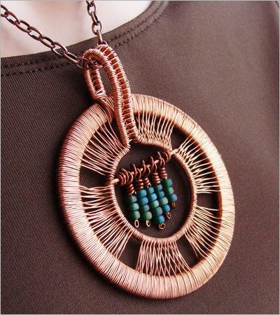 Copper Pendant (jewelsglobe.com)