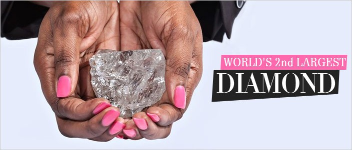 Worlds Largest Diamond
