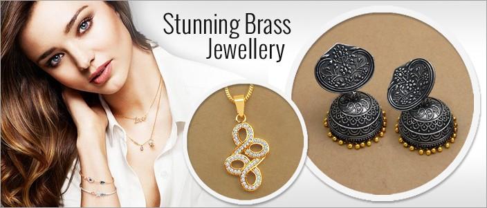 Stunning Brass Jewellery