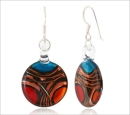 Murano Glass Earrings (Source: indulgy.com)