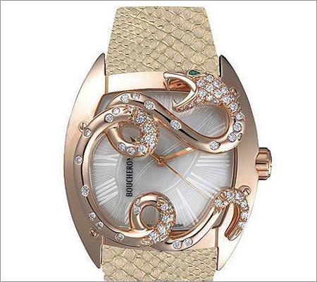 Gemstone Embellished Watch (Source: pinterest.com)