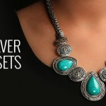 German Silver Necklace Sets