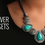 German Silver Necklace Sets