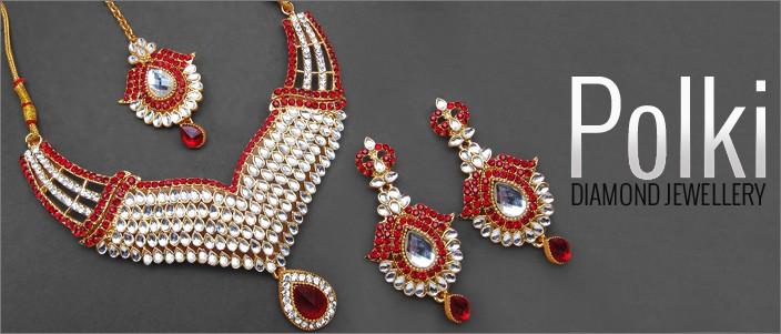 Polki Diamond Jewellery