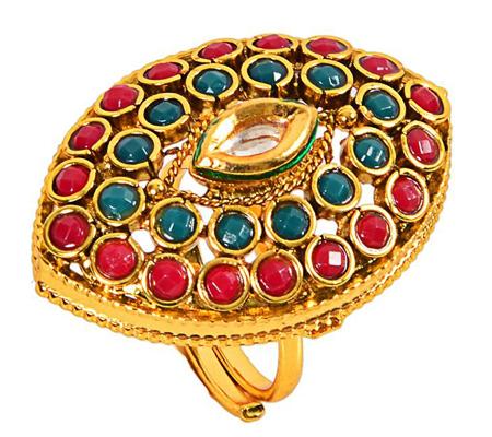 Polki Rings (Source: rediff.com)