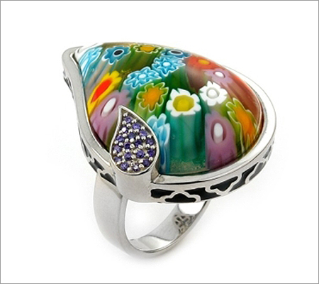 Murano Glass Rings (Source: randalls-fj.co.uk)