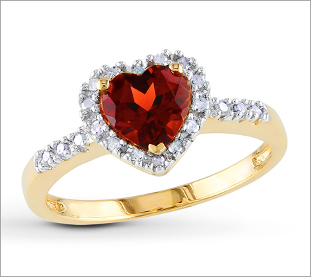 Gold Gemstone Ring (Source: dhgate.com)