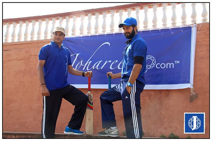 Johareezstallions Captain Gajendra Gupta & Johareez Stars Captain Prashantt Guptha