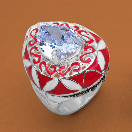 Gorgeous Enamel Ring