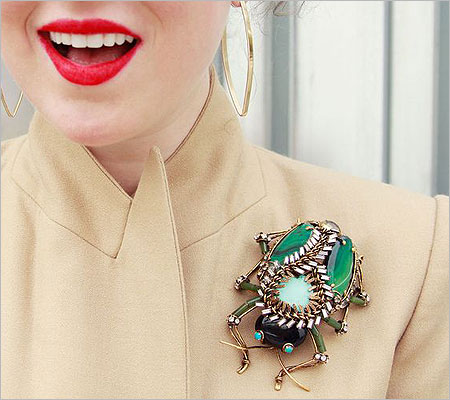 Designer Brooch (Source: pinterest.com)