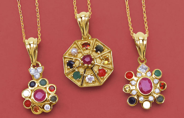 Navratan Jewellery (Pendants)