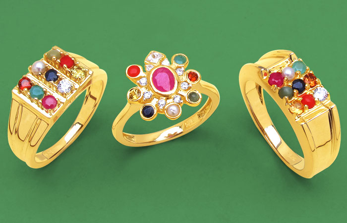 Navratan Jewellery (Rings)