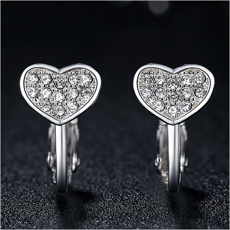 Diamond Hoop Earrings (Source: alicdn.com)