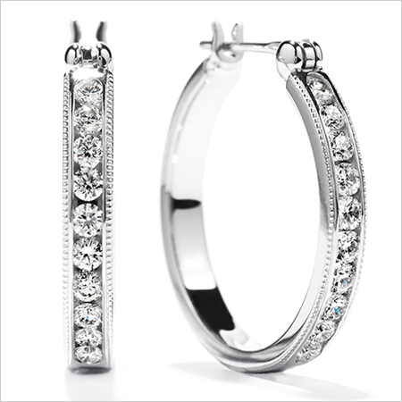 Designer Hoop Earrings (Source:heartsonfire.com)