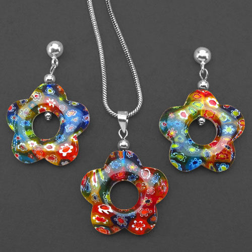 Murano_Glass_Jewellery_Set