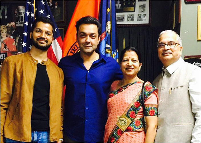 With_Bobby_Deol_Parents