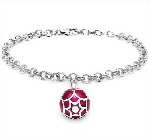 Silver-Charming-Bracelet