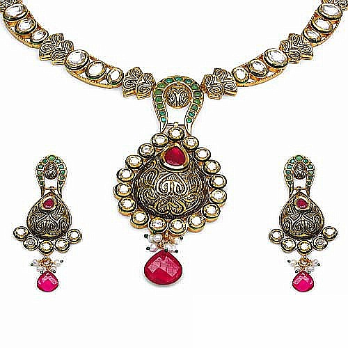 Kundan-jewellery-set