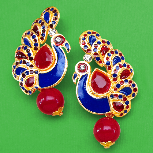 Multicolored-earrings