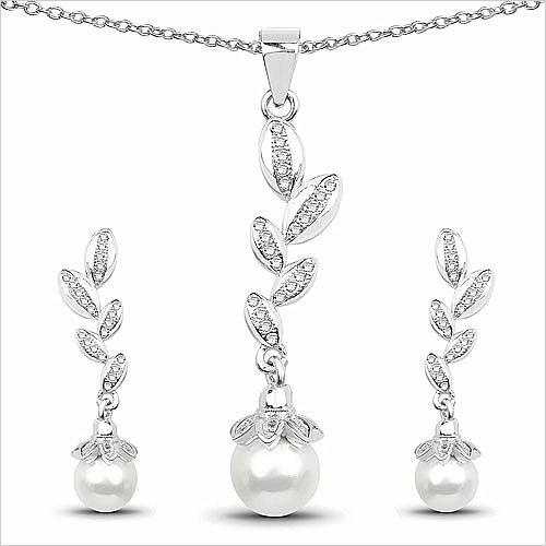 pearl-pendant-set